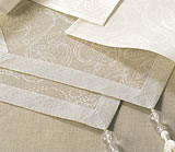 irish linen damask bistro collection shannon
